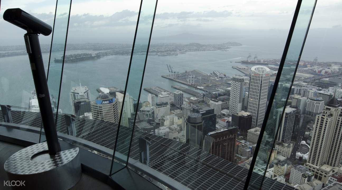 Views from Auckland Sky Tower