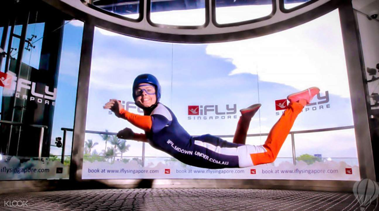 indoor skydiving Singapore