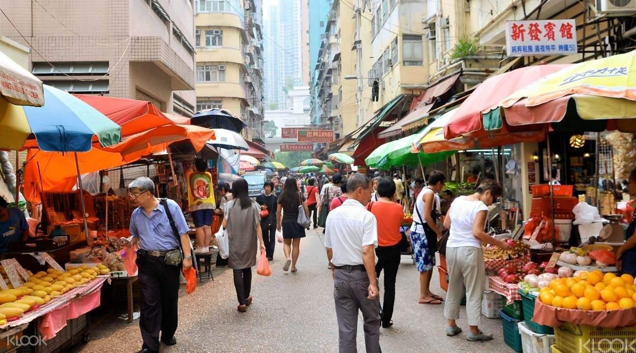 Mong Kok markets