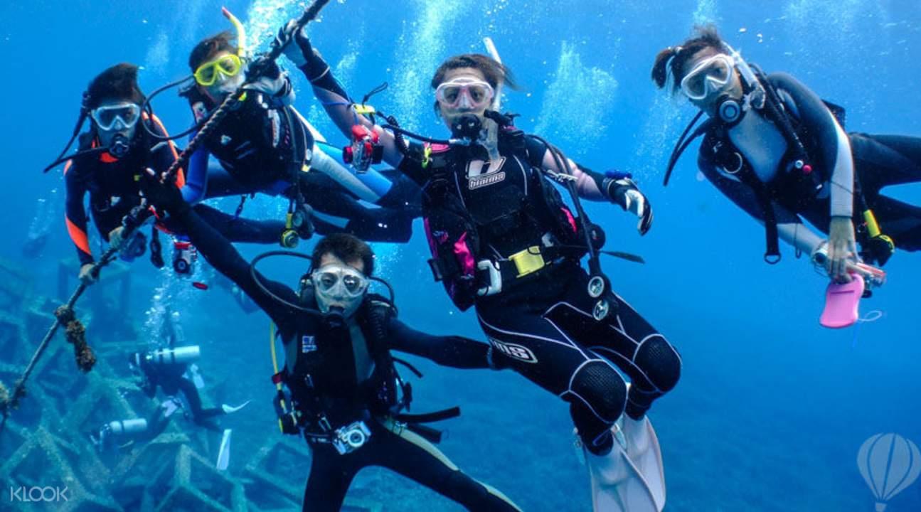 阿嘉岛潜水体验