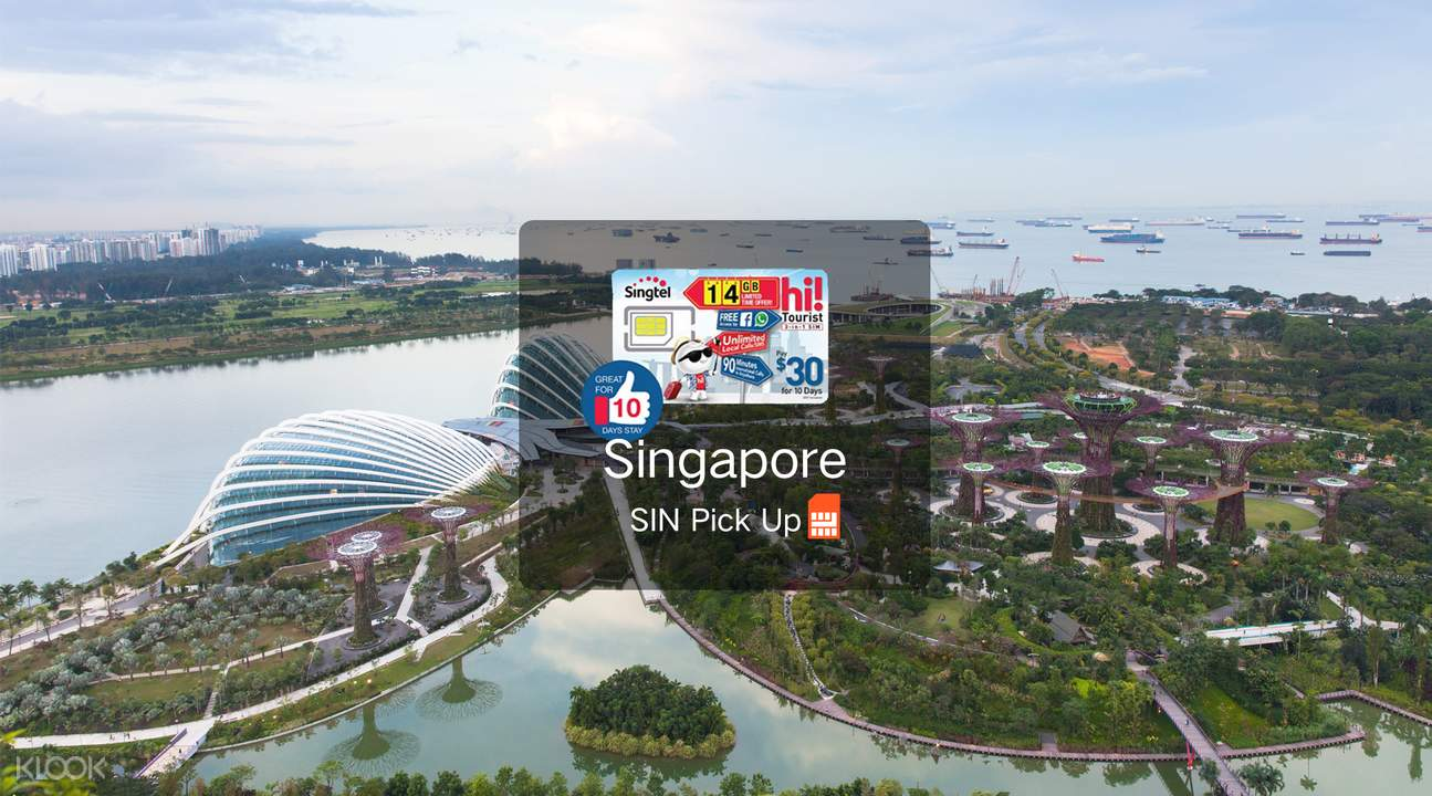 Singapore SIM Card (Changi Airport Pick Up)