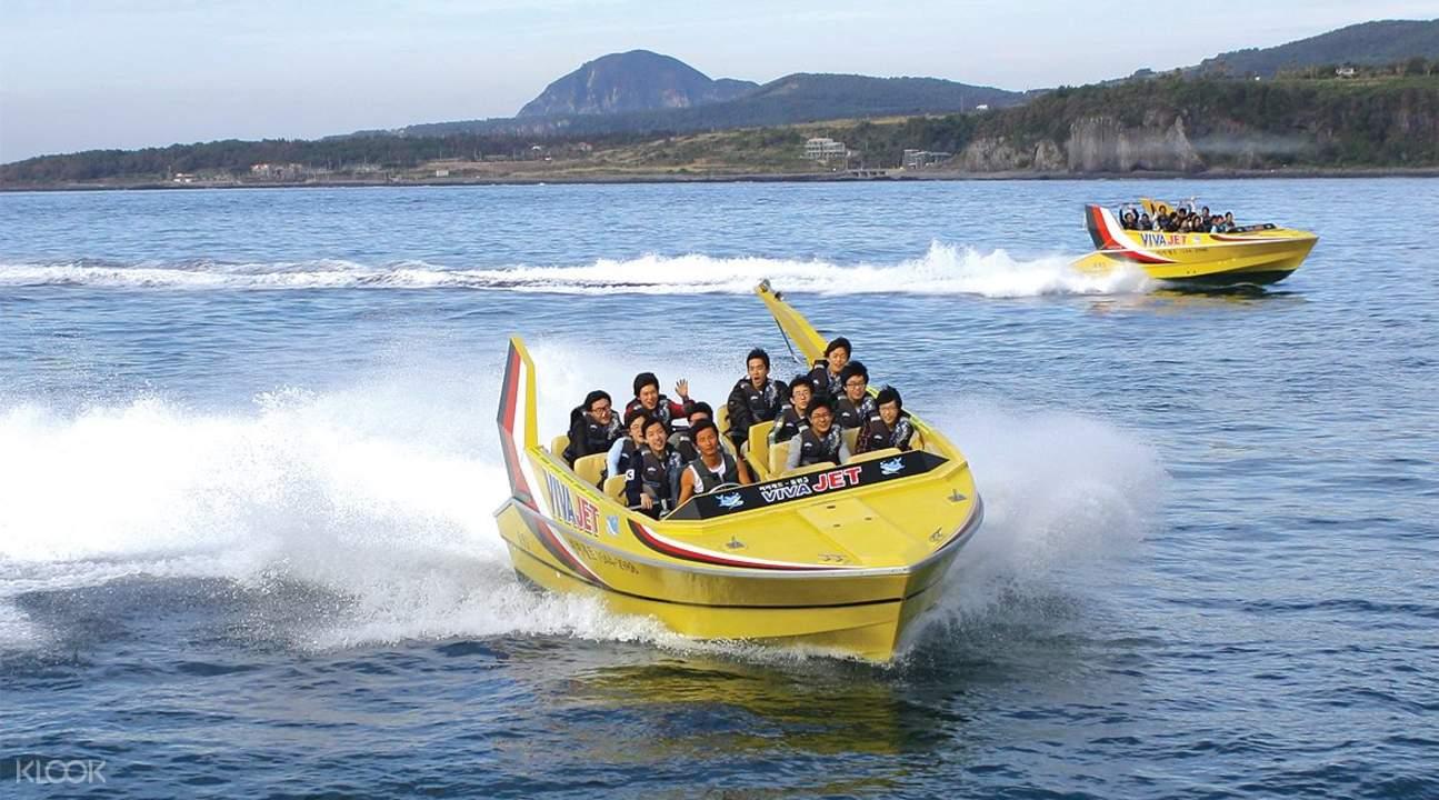 viva jet boat jeju
