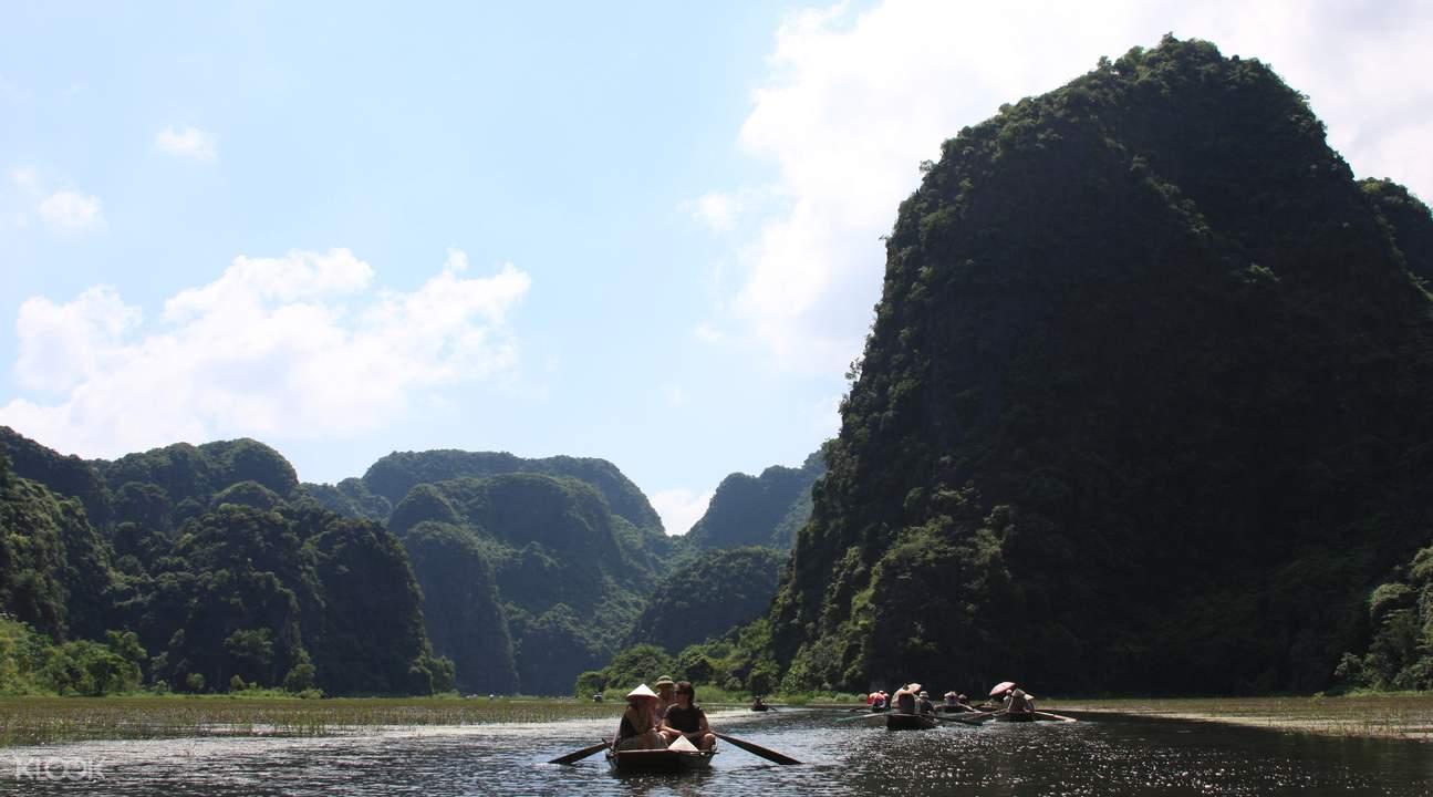 越南紅河泛舟