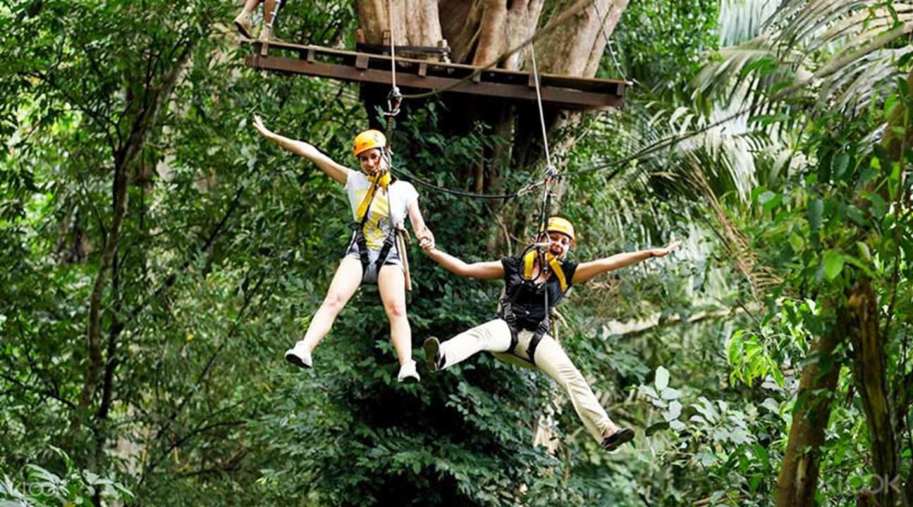 Flying Hanuman 原生態叢林飛躍
