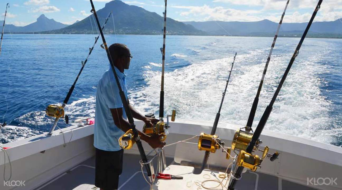Big sport fishing in Mauritius