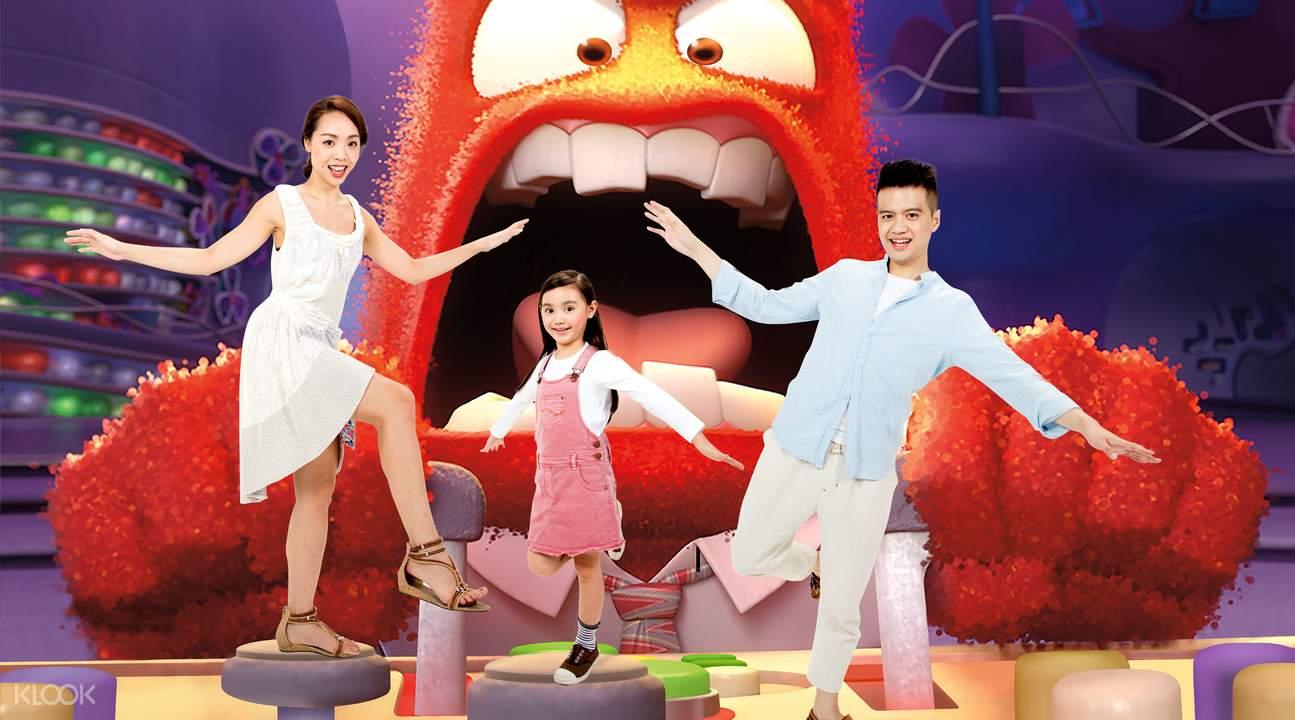 香港迪士尼4D奇幻馆