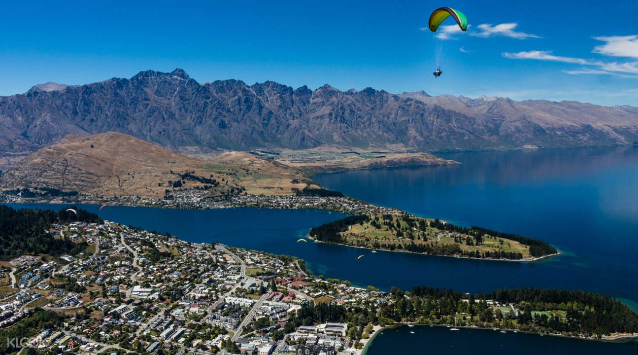 Queenstown Paragliding experience