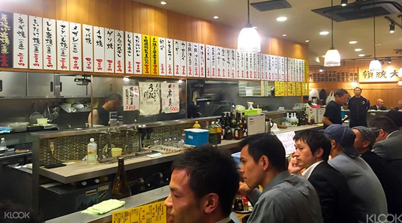 Izakaya bar hopping