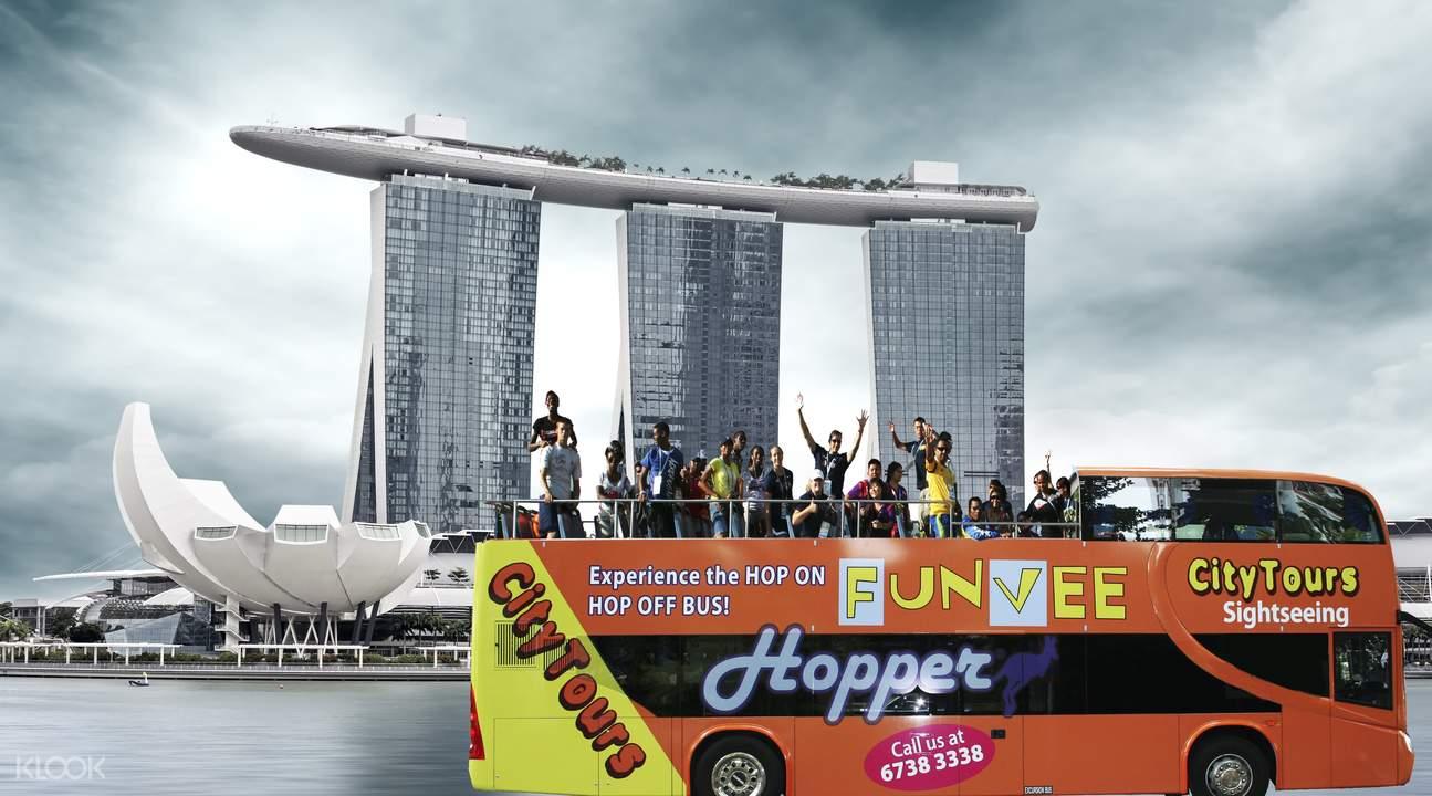 新加坡双层观光巴士