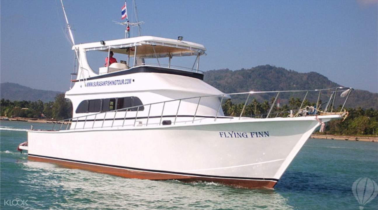 泰国普吉海上钓鱼
