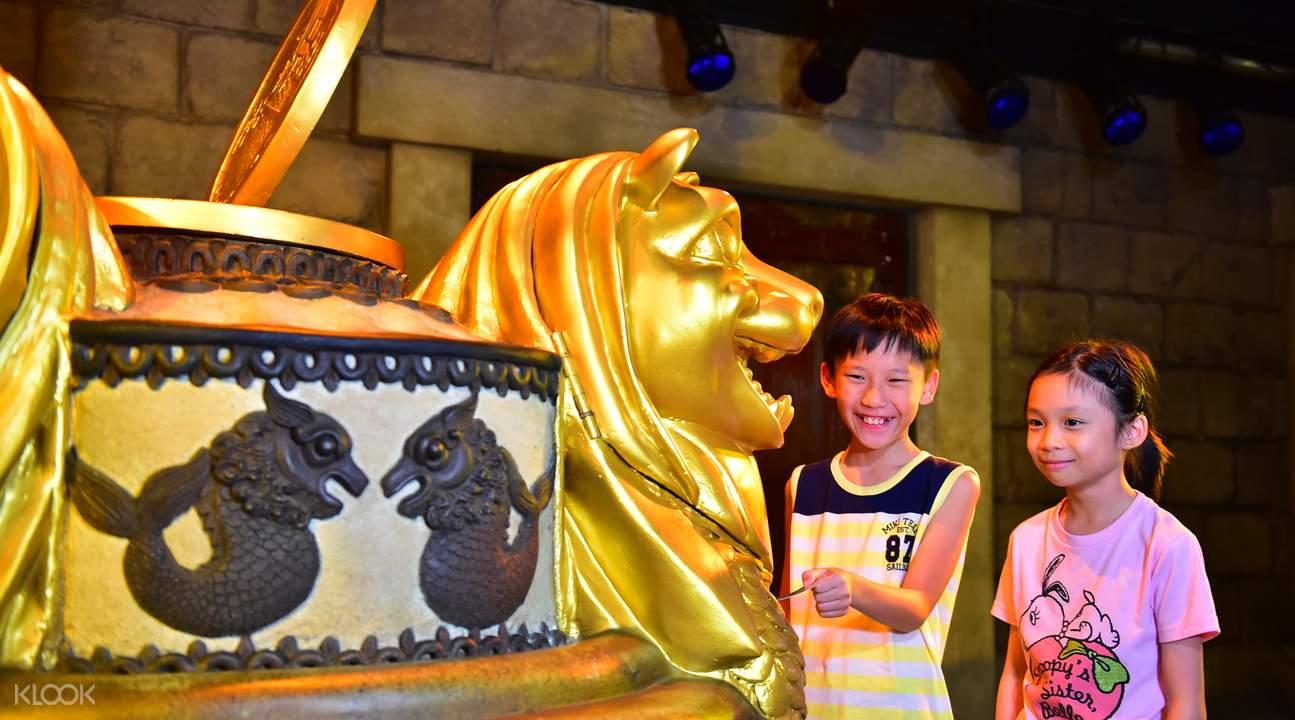 新加坡鱼尾狮塔