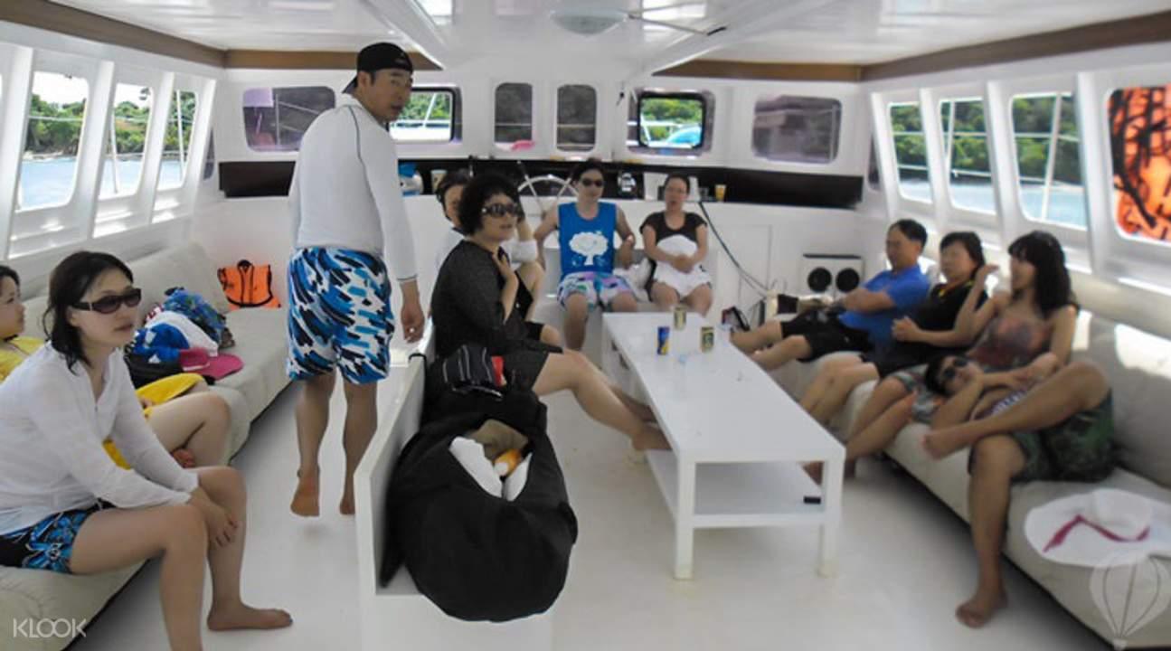 奢華遊艇普吉皇帝島探索