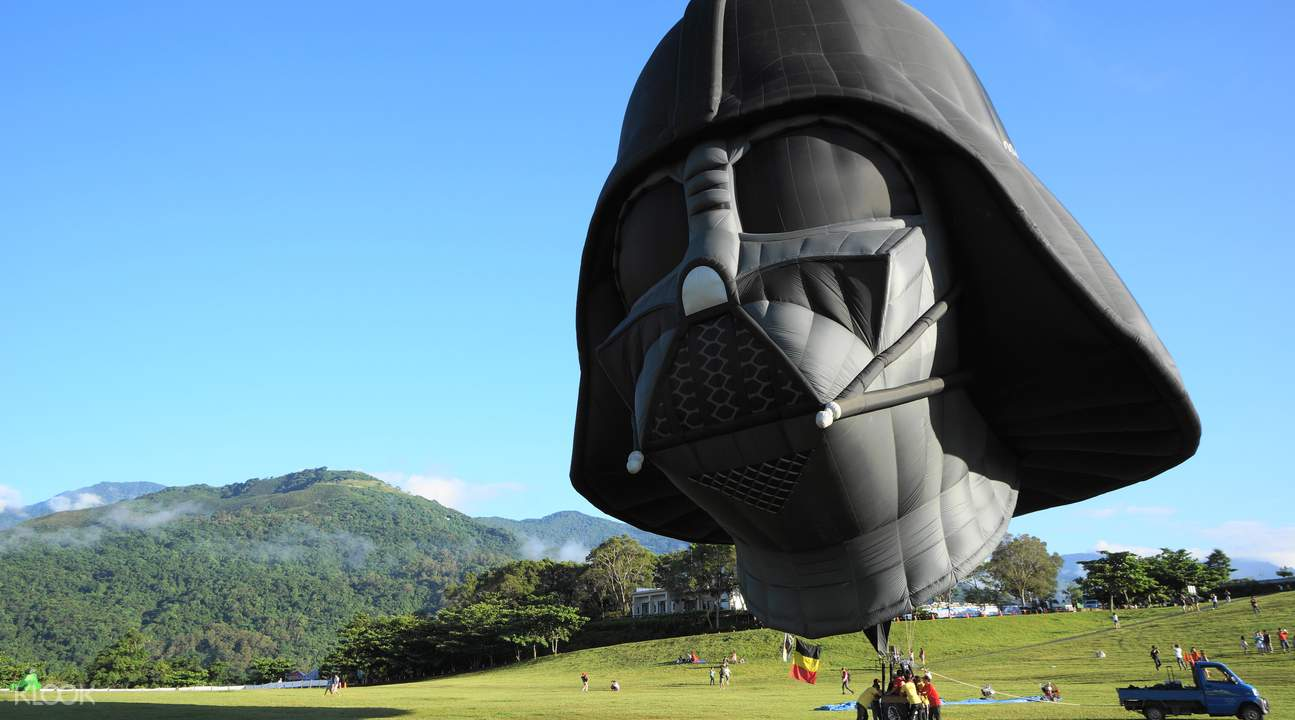 造型奇特的熱氣球