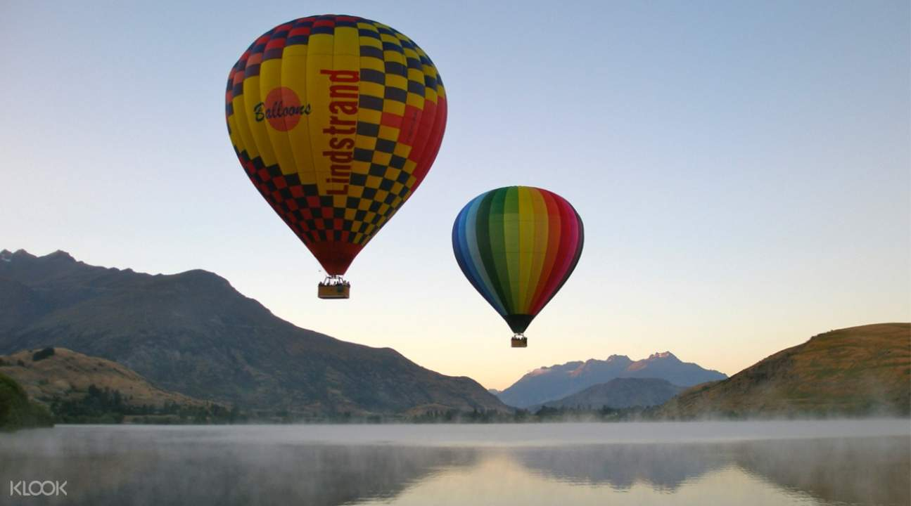 Sunrise Hot Air Ballooning Queenstown