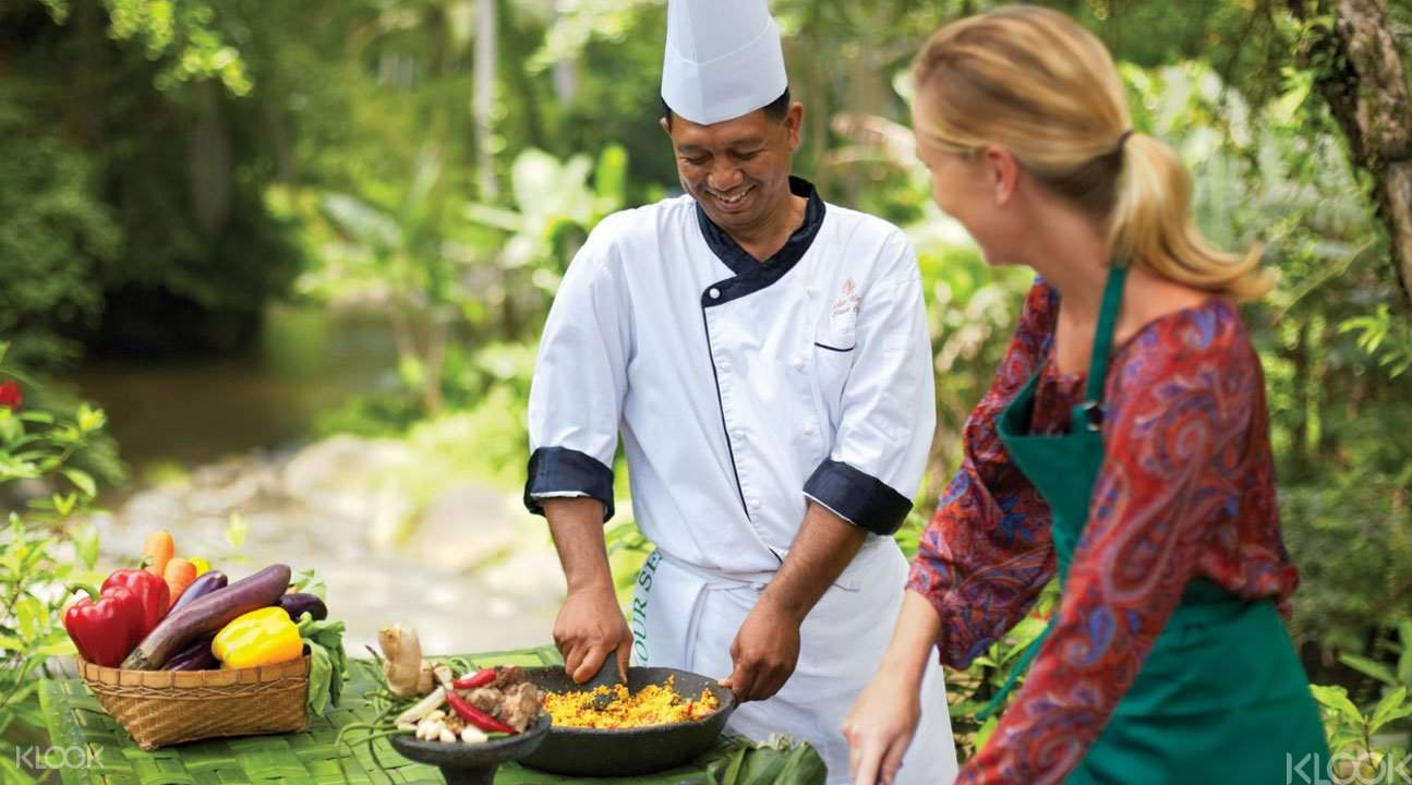 Balinese cuisine cooking class