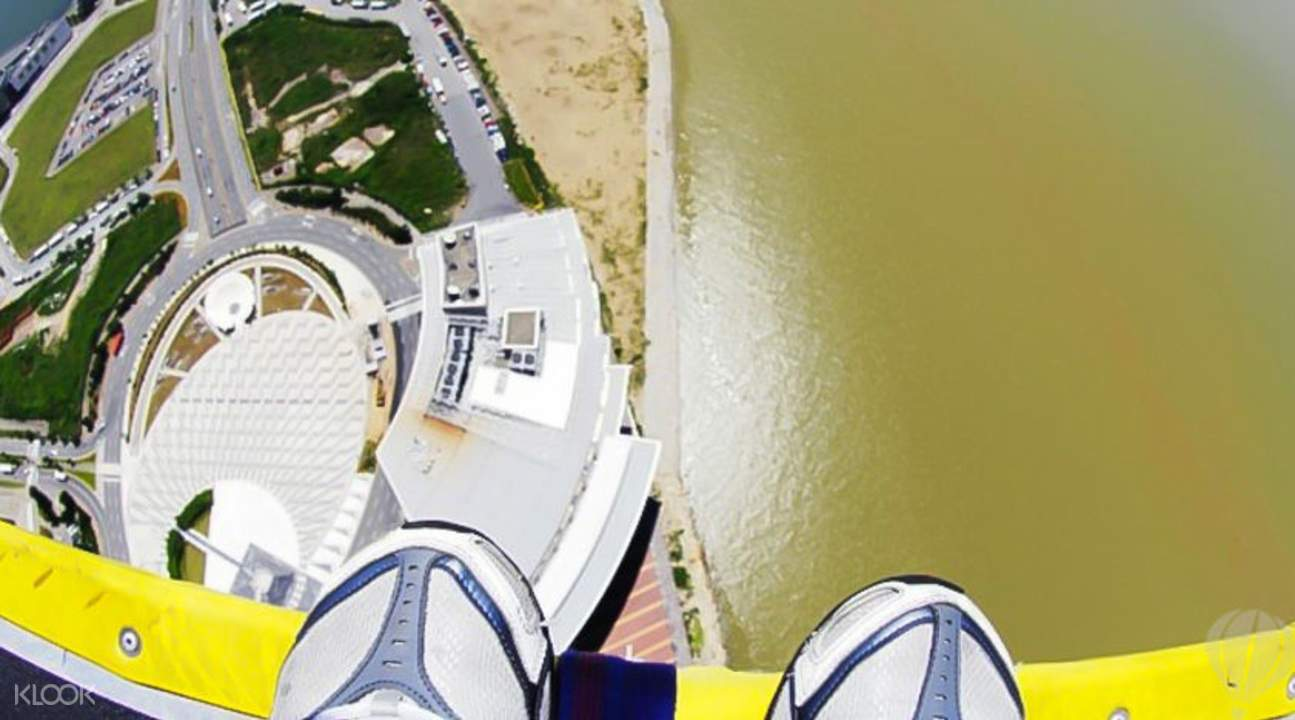 World's Highest Bungy Jump