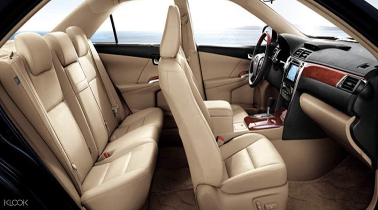 舒適的車內體驗