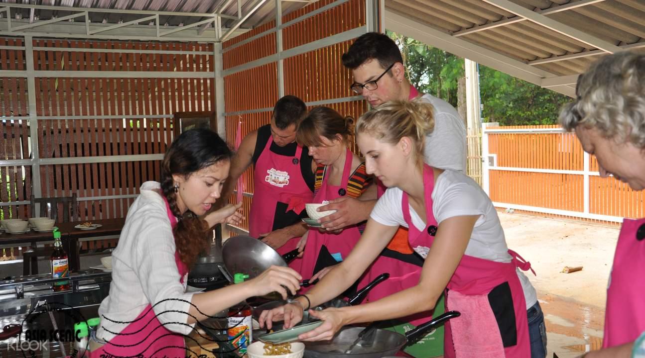 南奔泰式厨艺学习