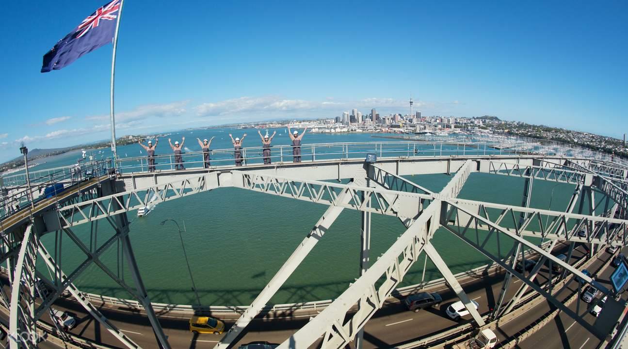 Summit of Auckland Bridge