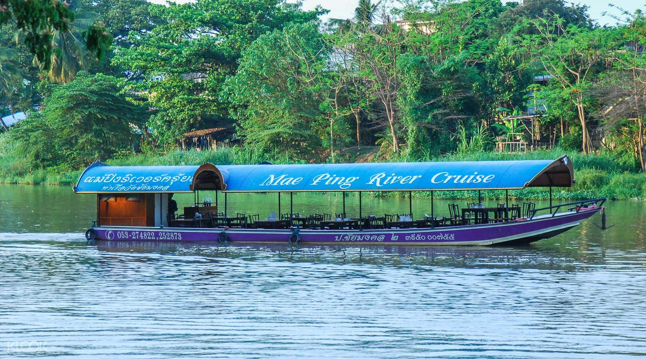 湄平河遊船