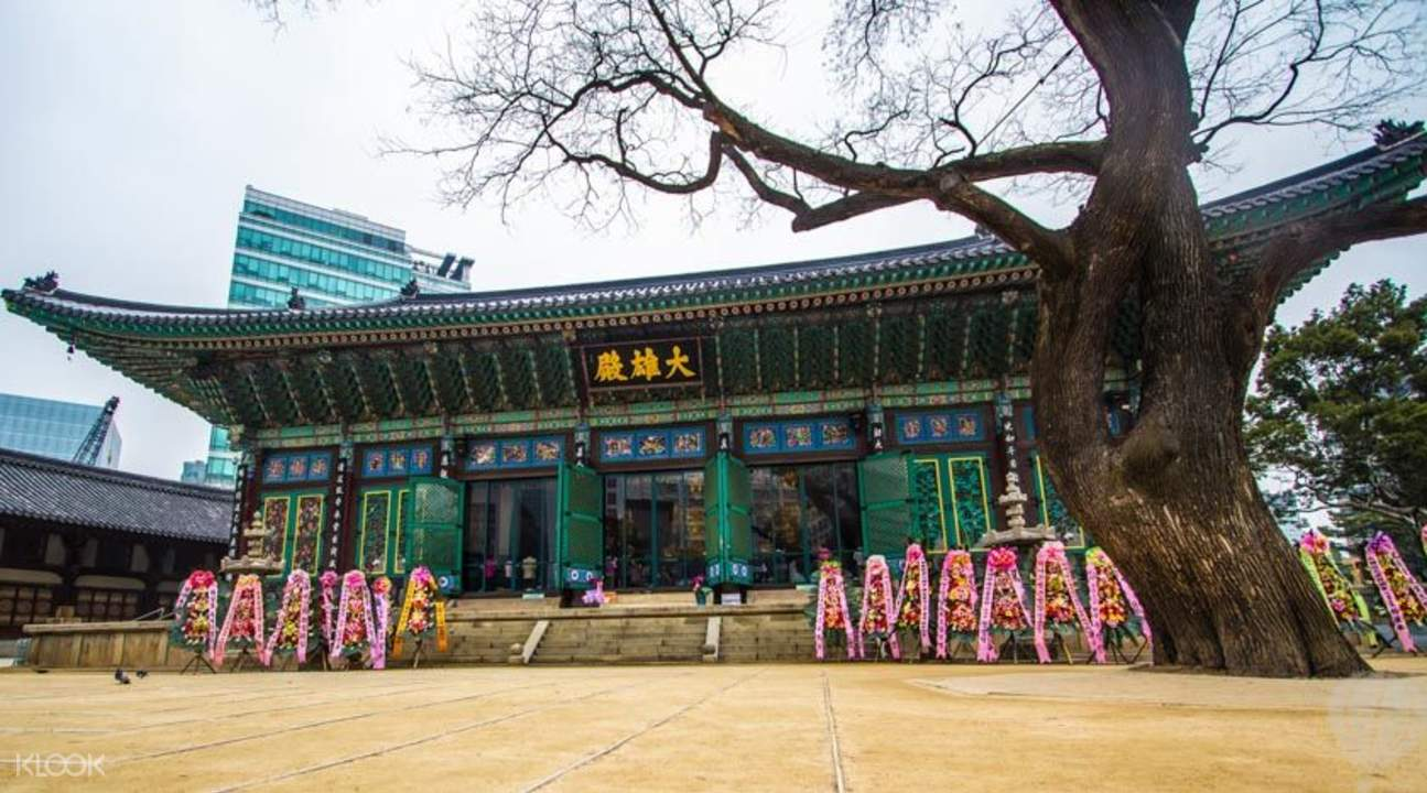 朝鲜宫殿晨间漫步