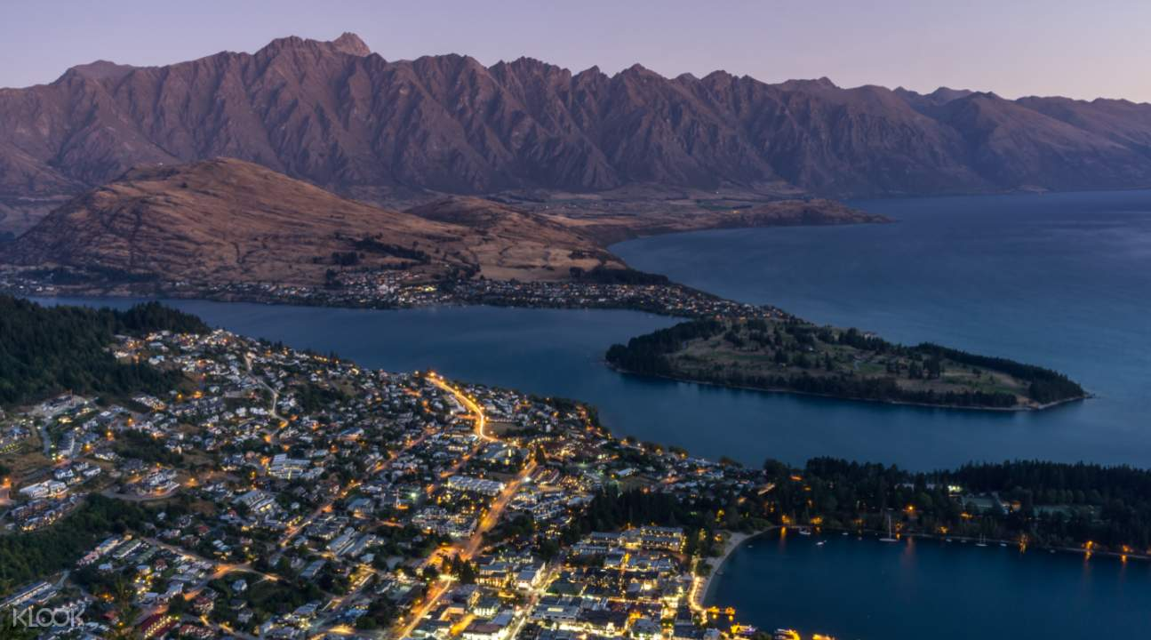 Queenstown Skyline Gondola Dusk