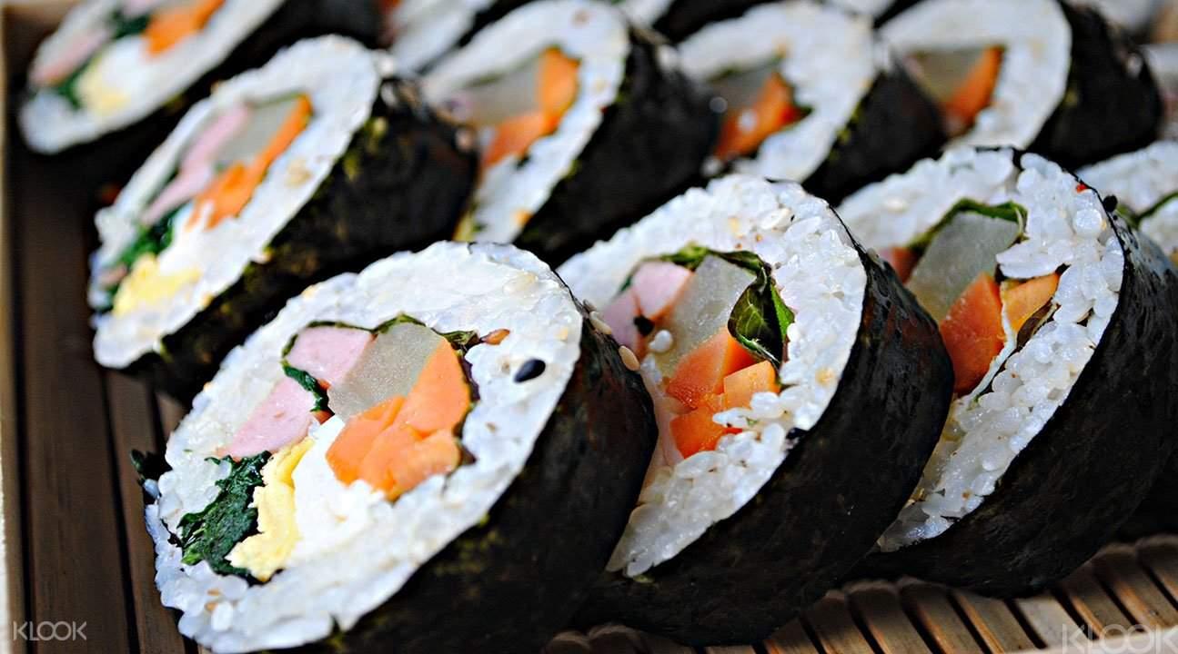 Korean sushi