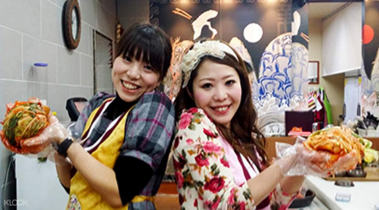 Kimchi making Seoul
