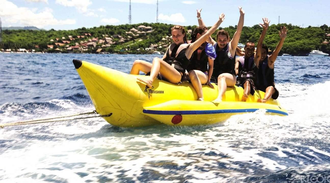 Lembongan Island banana boat
