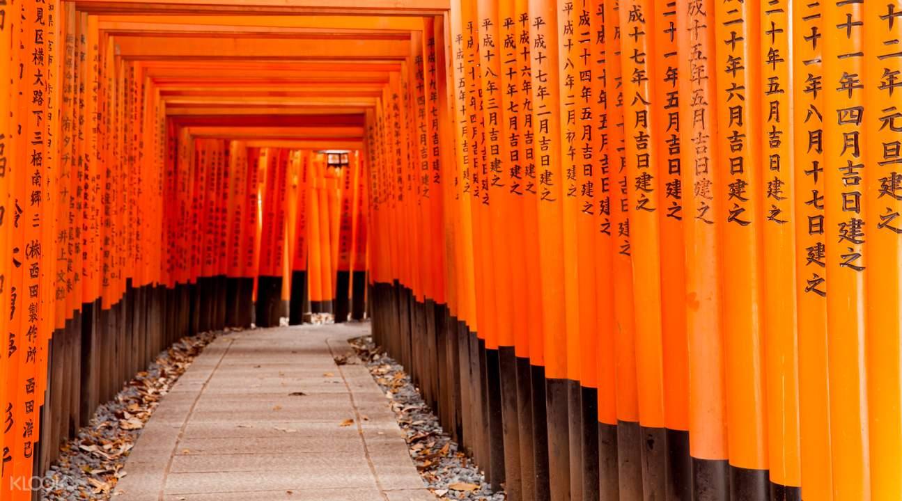 京都伏見稻荷大社的千本鳥居