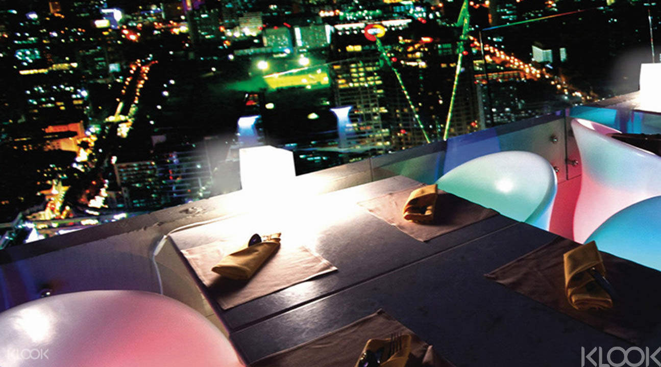 Bangkok sky restaurant ticket