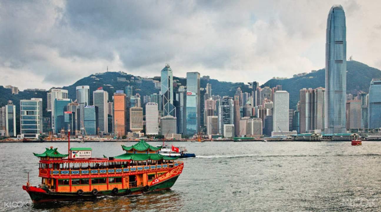 香港洋紫荊號夜遊維港