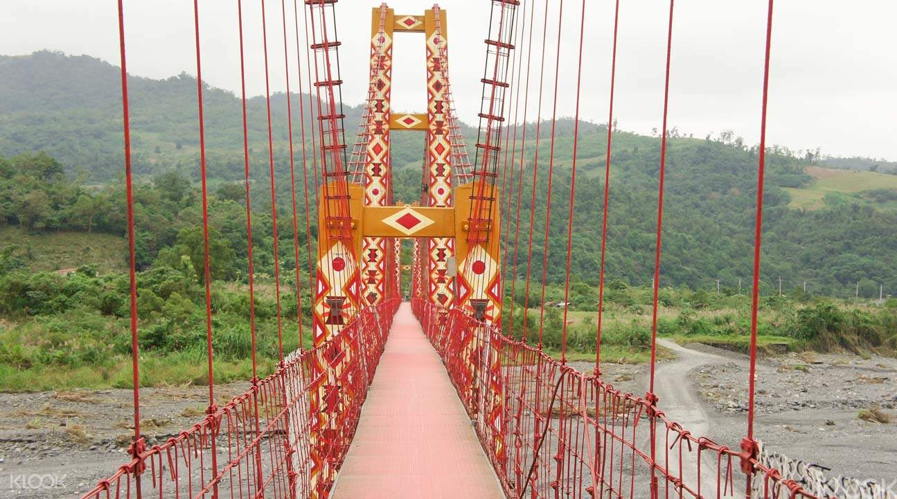 Stacis Suspension Bridge Taiwan