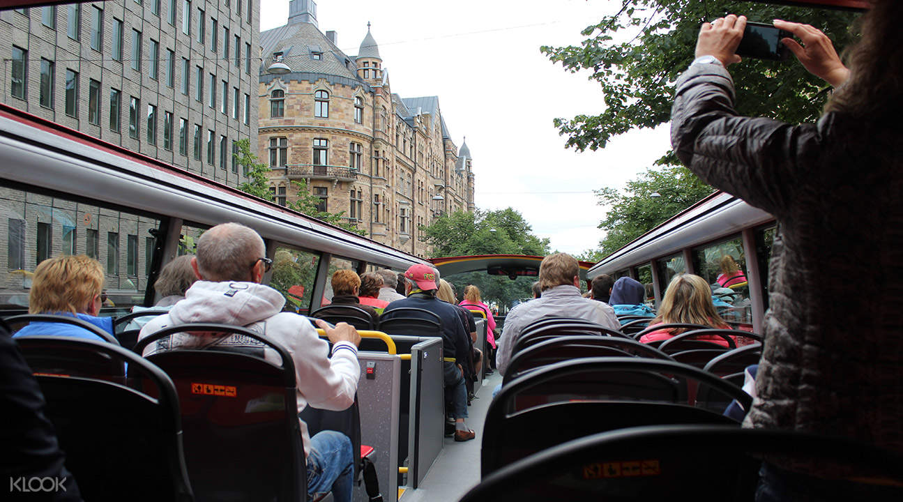 Stockholm sightseeing bus