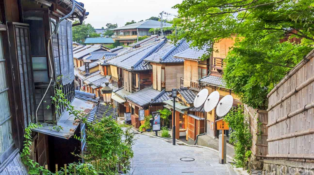 Kyoto Backstreet Cycling