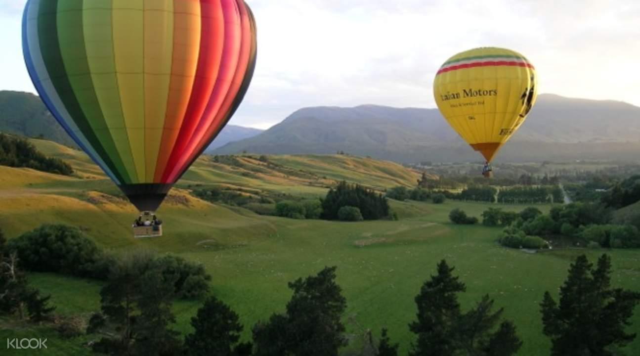 Sunrise Hot Air Ballooning
