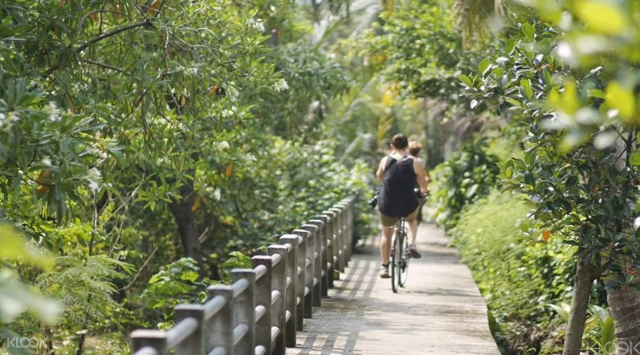 曼谷绿色森林脚踏车漫游
