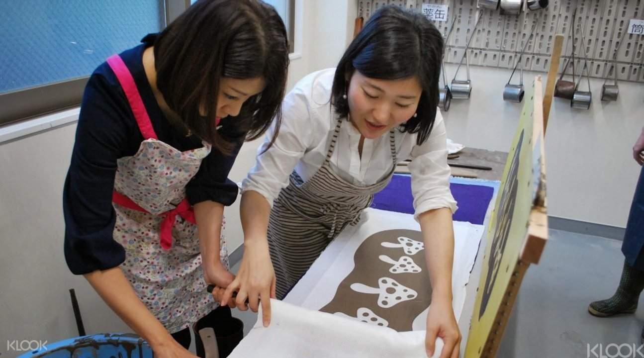 craft workshop tokyo, tenugui