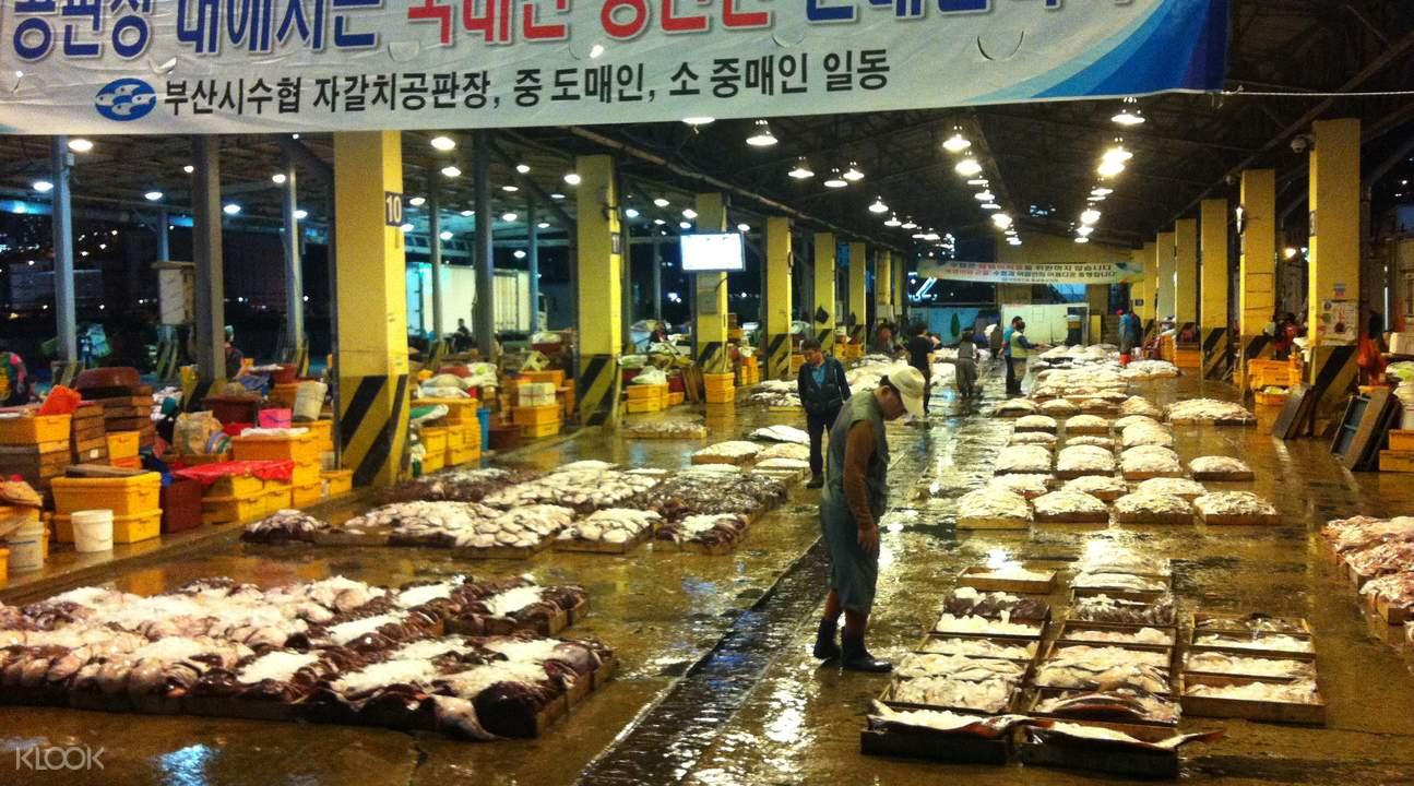 札嘎其海鮮市場