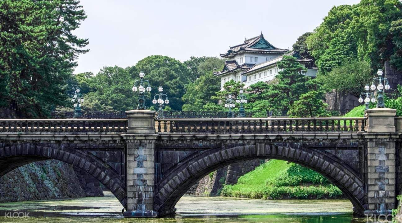 Imperial Palace Grounds on the tokyo walking tour