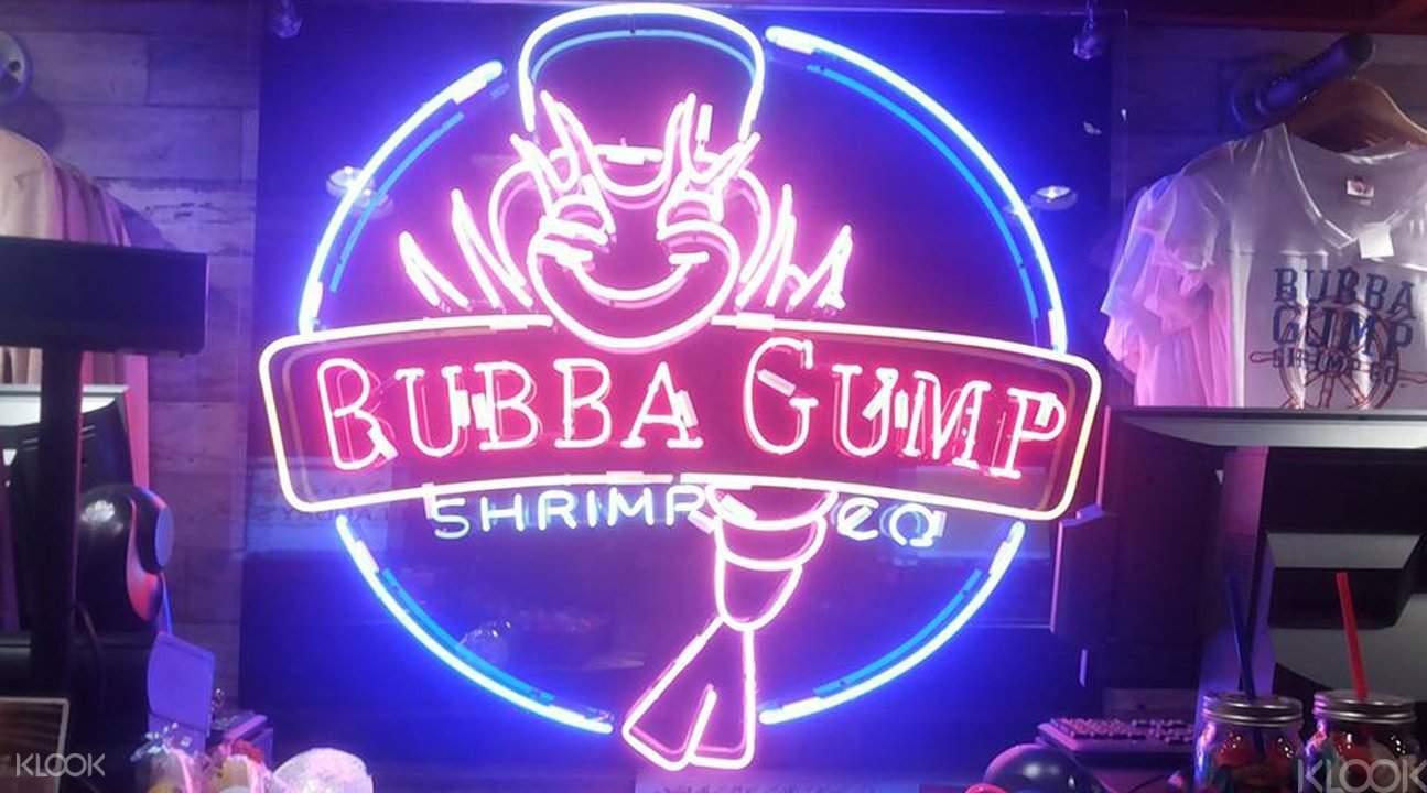 Bubba Gump Hong Kong logo
