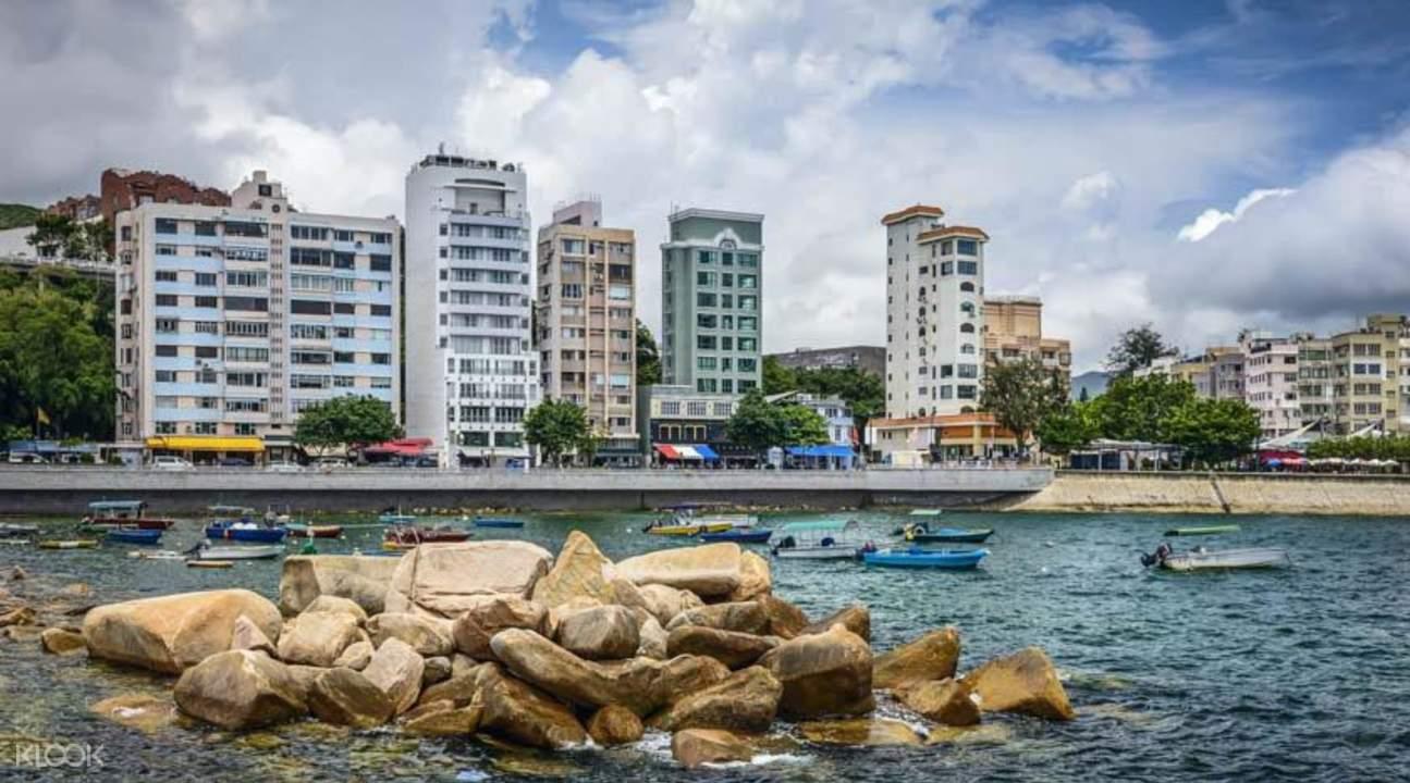 香港張保仔號觀賞兩岸