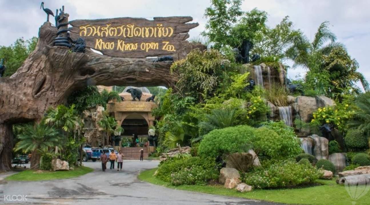 Цена билета в открытый зоопарк Кхао Кхео