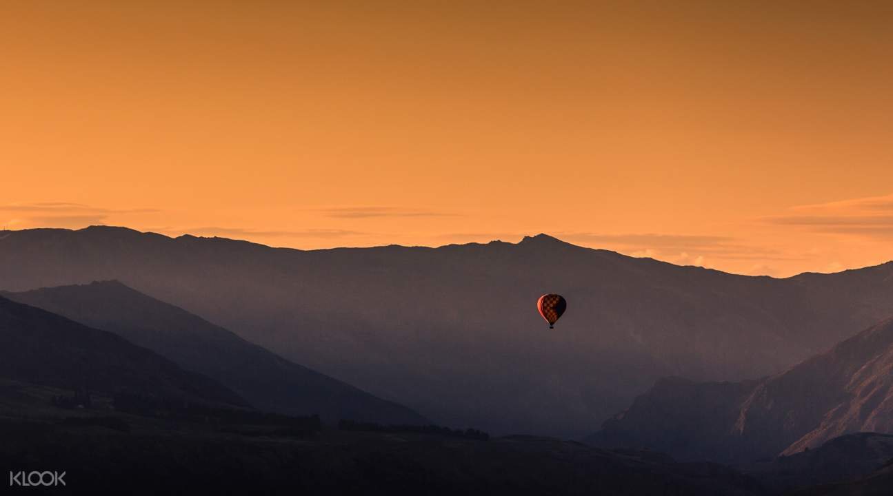 紐西蘭皇后鎮晨曦熱氣球體驗