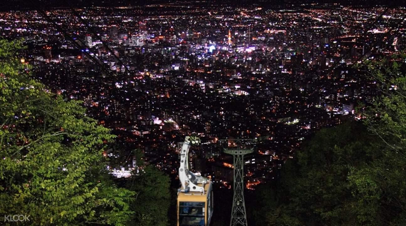 北海道札幌 藻岩山