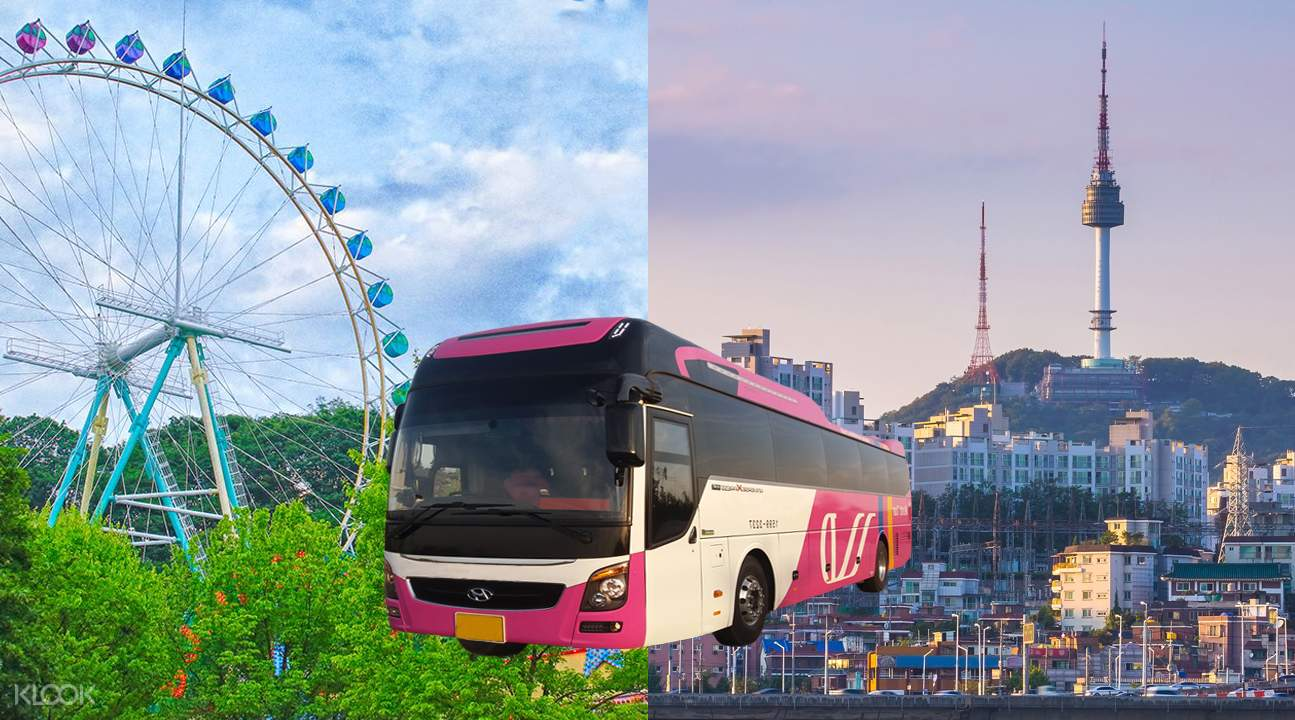Roundtrip Shuttle Bus Transfer from Seoul to Everland and