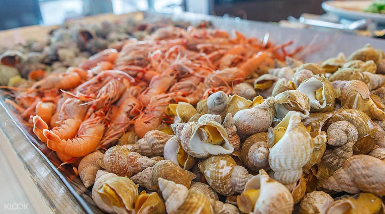 fresh seafood shangri la buffet jeju