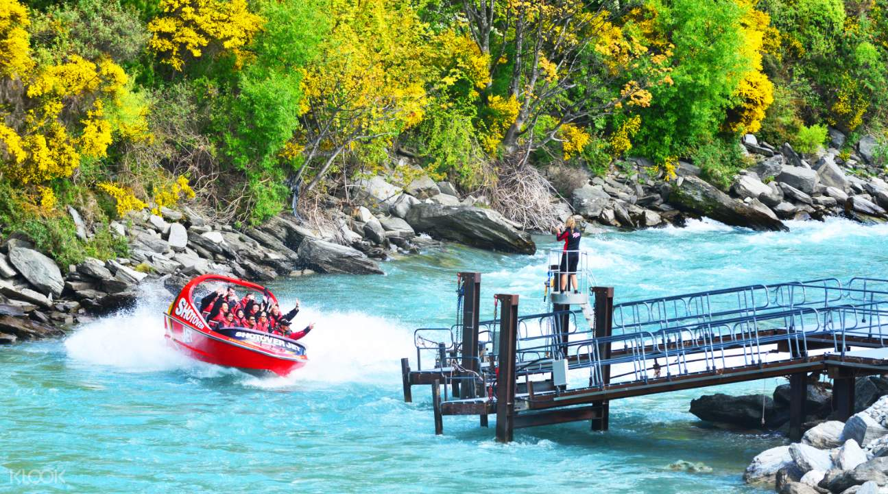 Shotover Jet Boat Ride - Klook