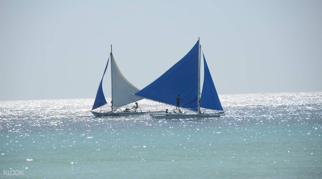 boracay paraw sailing