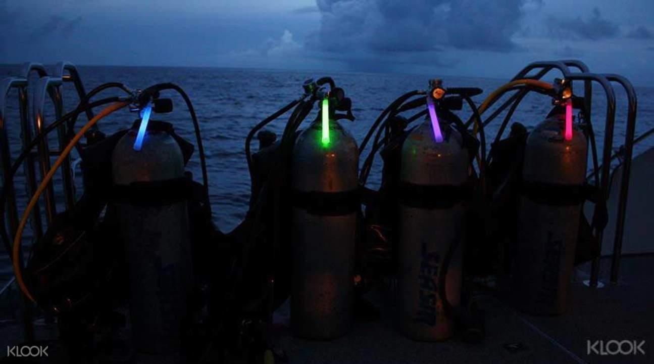 阿嘉岛夜潜